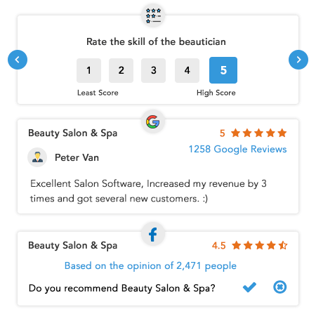 Salon and Spa Software Features | Waffor Miosalon