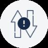 Alert central admin on data download